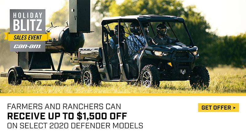 Can-Am - Holiday Blitz Sales Event - Defender Offers
