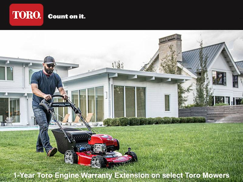 Toro - 1-Year Toro Engine Warranty Extension on select Toro Mowers