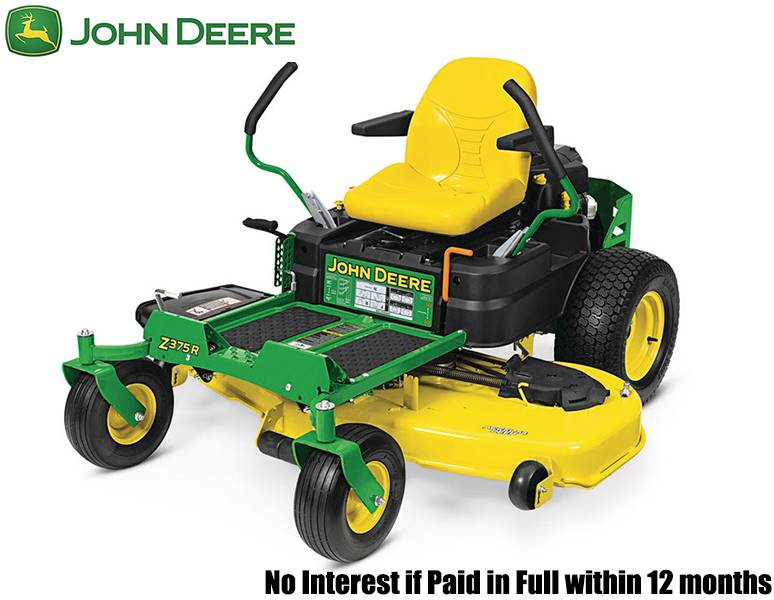 John Deere - No Interest if Paid in Full within 12 months