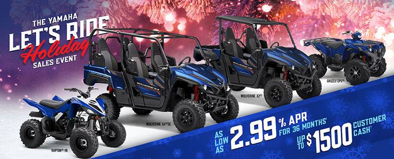 Yamaha Motor Corp., USA Yamaha ATV - Current Offers & Financing