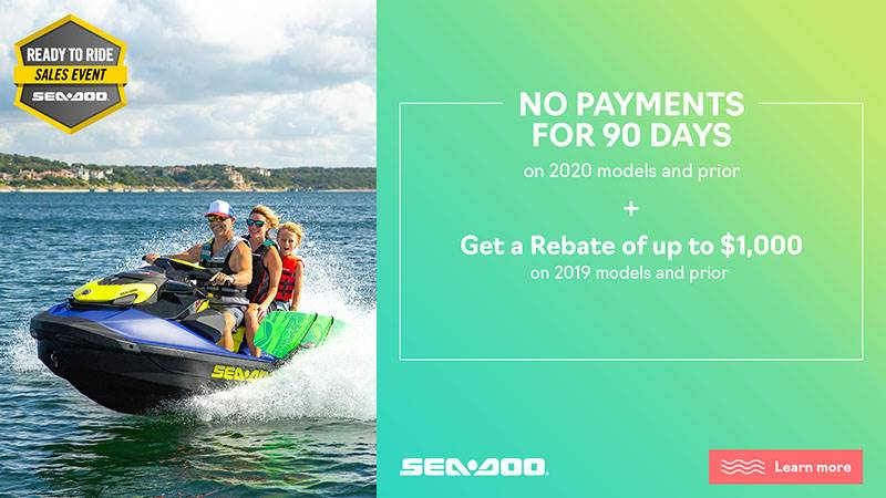 Sea-Doo - Ready to Ride Sales Event