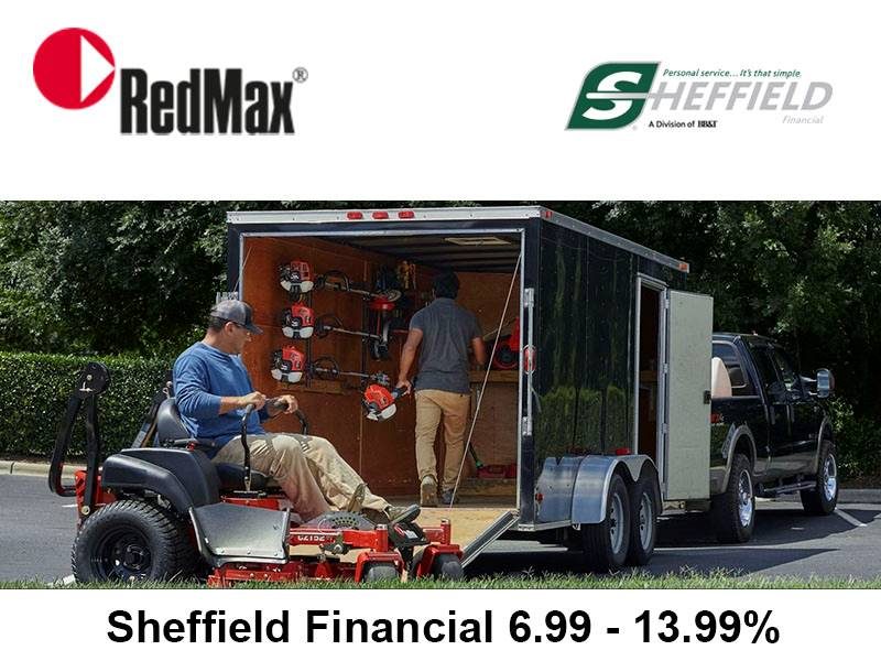 RedMax - Sheffield Financial 6.99 - 13.99%