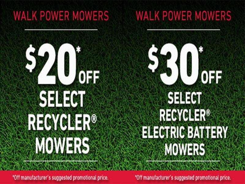 Toro - Save on Select Recycler Mowers