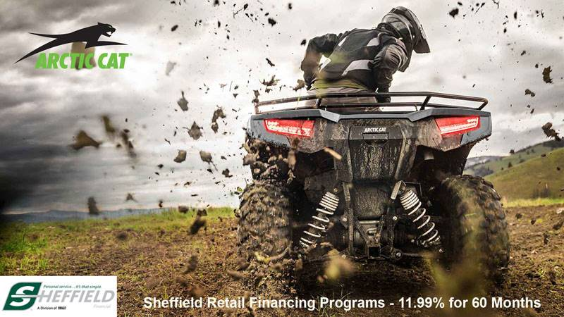 Arctic Cat - Sheffield Retail Financing Programs - 11.99% for 60 Months
