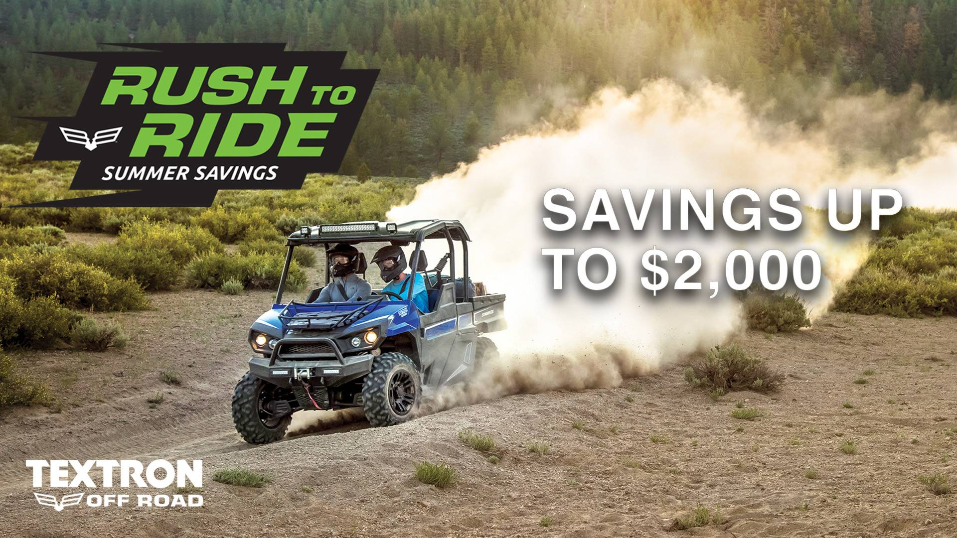 Bad Boy Offroad (Textron Legacy) Rush To Ride Sales Event