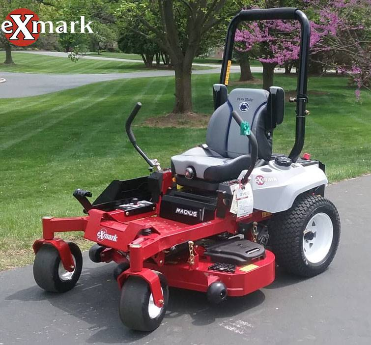 2019 Exmark Radius E-Series 44 in  Zero Turn Mower Lawn
