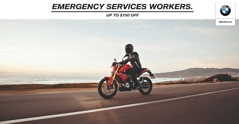 BMW - Emergency Services Workers.