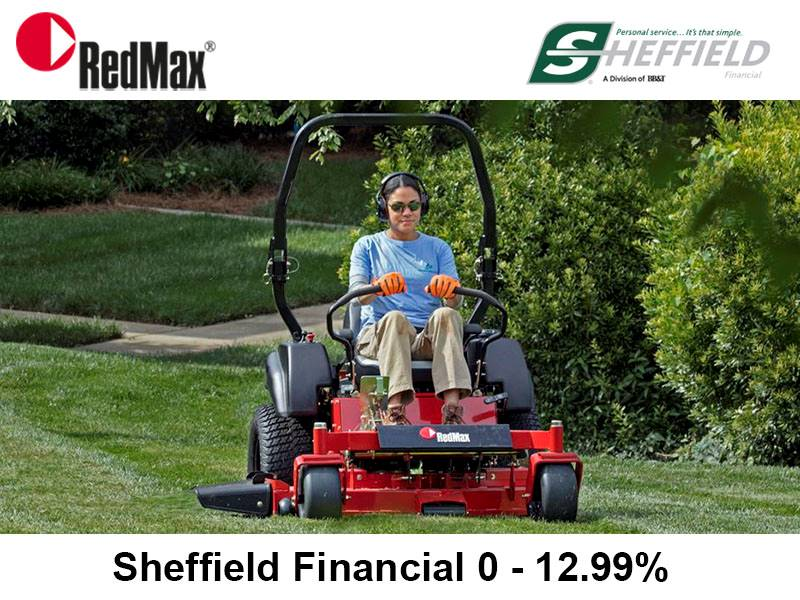 RedMax - Sheffield Financial 0 - 12.99%