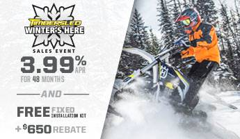 Timbersled - Winter's Here Sales Event