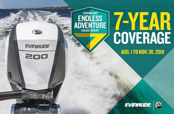 Evinrude - Endless Adventure Sales Event
