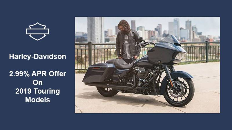 Harley-Davidson - 2.99% APR(25) Offer On 2019 Touring Models