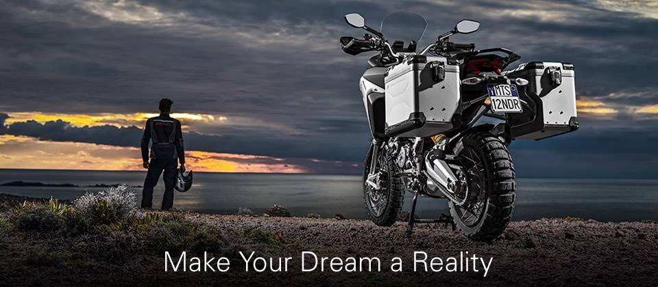Ducati - Make Your Dream a Reality with Ducati In-Store Credit