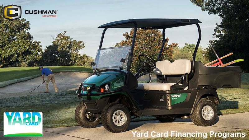 Cushman - Yard Card Financing Programs