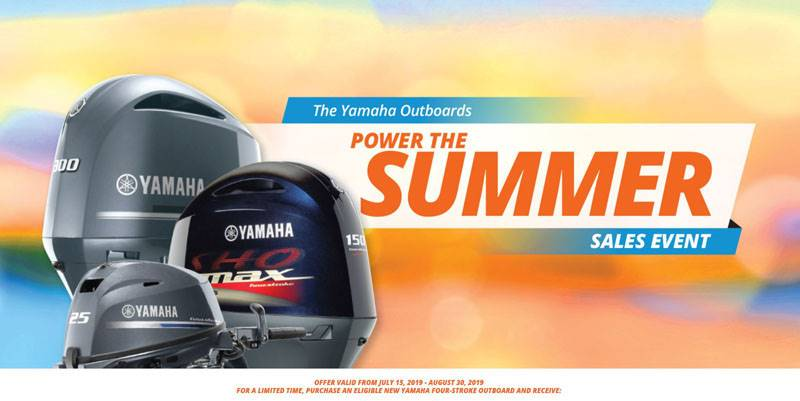 Yamaha Marine Yamaha Outboards - Power The Summer Sales Event
