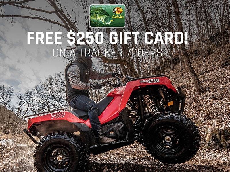Tracker Off Road - Tracker 700EPS Gift Card Offer