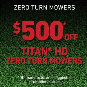 Toro - $500 Off TITAN HD Mowers