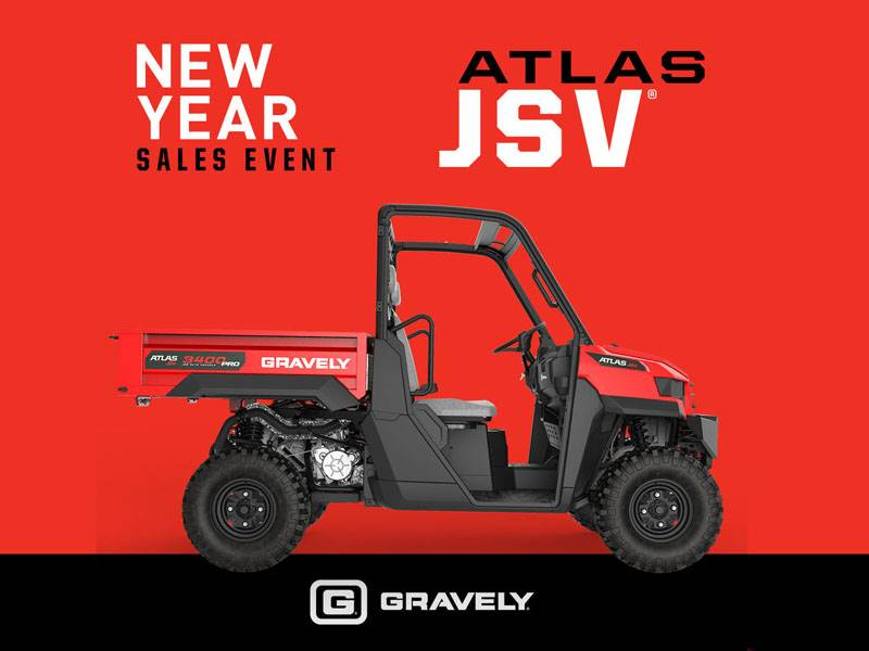 Gravely USA Gravely - ATLAS JSV New Year Sales Event