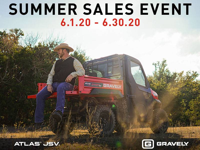 Gravely - Summer Sales Event