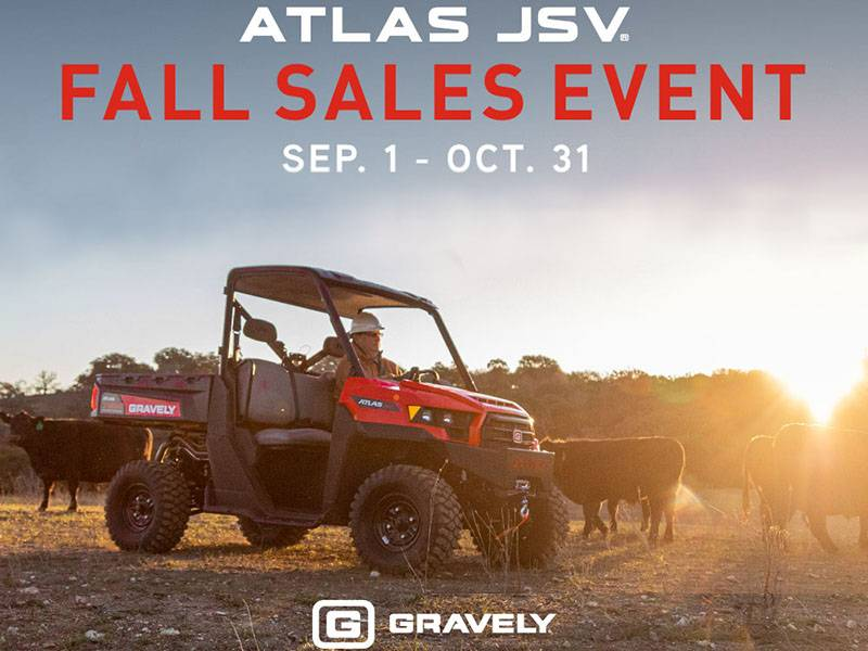 Gravely - Atlas JSV Fall Haul Sales Event