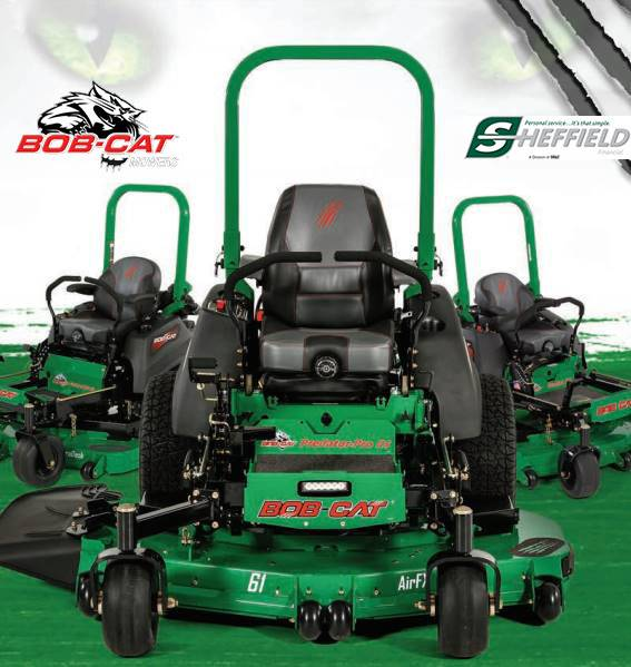 Bob-Cat Mowers - Sheffield Financing Offers