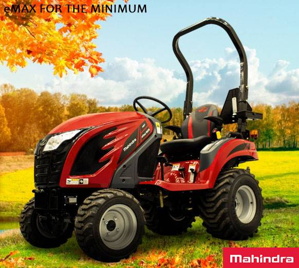Mahindra - eMAX FOR THE MINIMUM