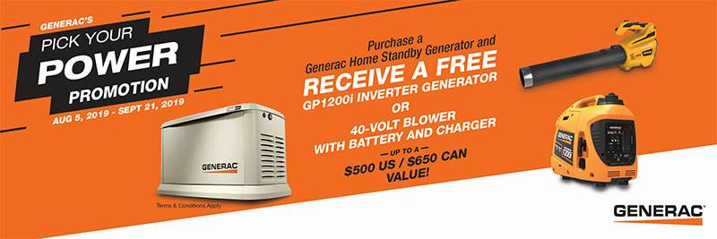 Generac - Pick Your Power