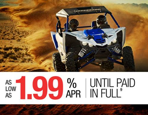 Yamaha Motor Corp., USA Yamaha - Current Offers - Pure Sport Side-By-Side