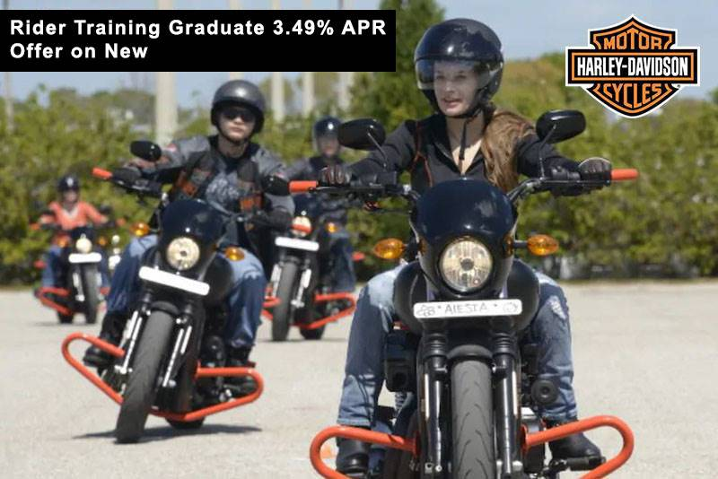 Harley-Davidson - Rider Training Graduate 3.49% APR* Offer on New Motorcycles