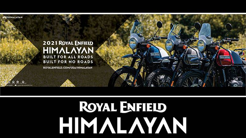 Royal Enfield - New 2021 Himalayan