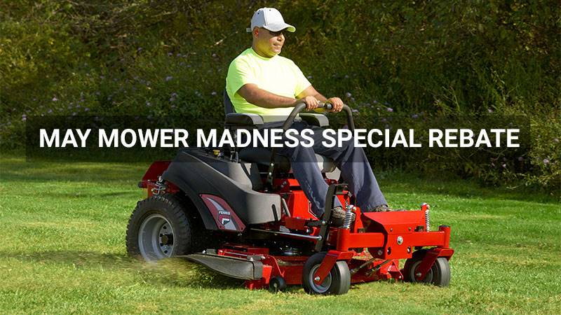 Ferris Industries - May Mower Madness Special Rebate