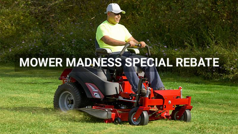 Ferris Industries - Mower Madness Special Rebate