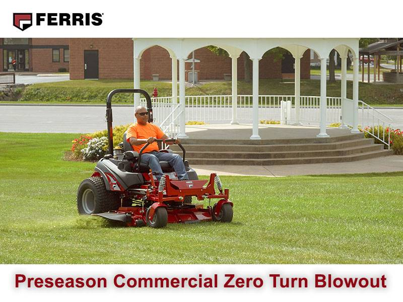 Ferris Industries - Preseason Commercial Zero Turn Blowout