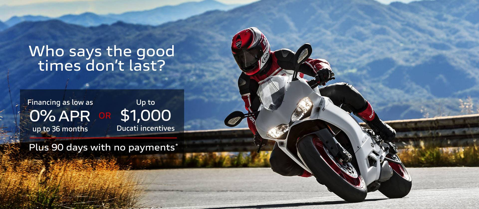 Ducati - 2018 Special Offers