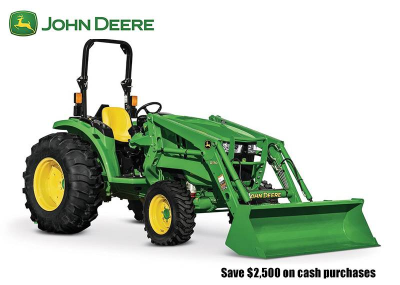 John Deere - Save $2,500 on cash purchases