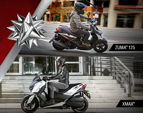 Yamaha Scooters - Current Offers and Financing