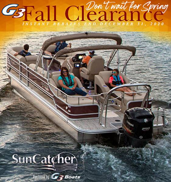 G3 Suncatcher - Fall Clearance Rebates