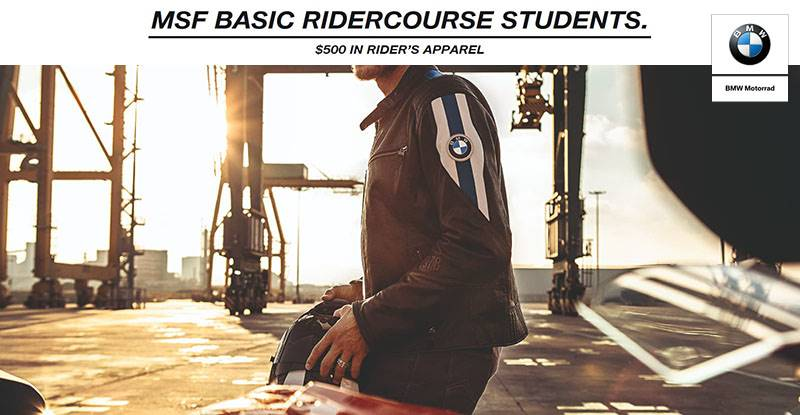 BMW - MSF Basic RiderCourse Students.