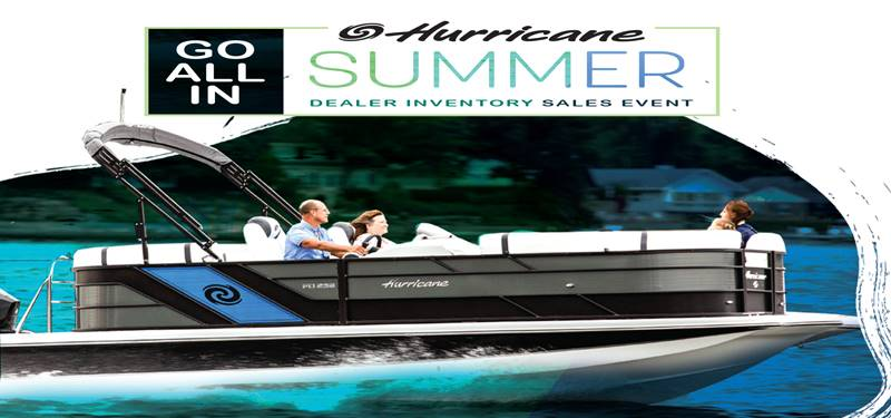 Hurricane - GO ALL IN - Summer Dealer Inventory Sales Event