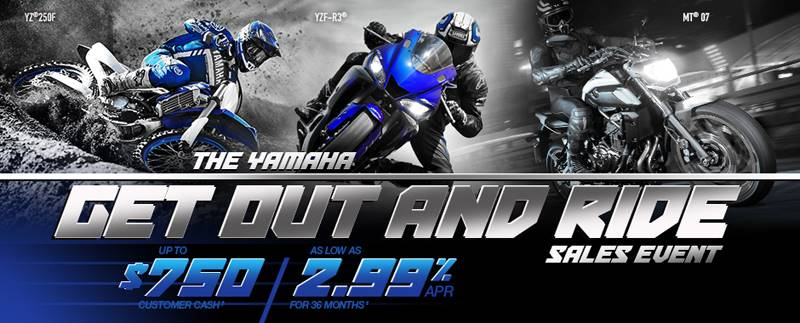 Yamaha Motor Corp., USA Yamaha Motorcycle  - Current Offers and Financing