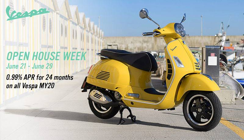 Vespa - Open House 2019