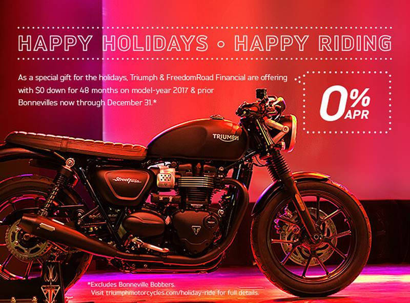 Triumph - Happy Holidays, Happy Riding
