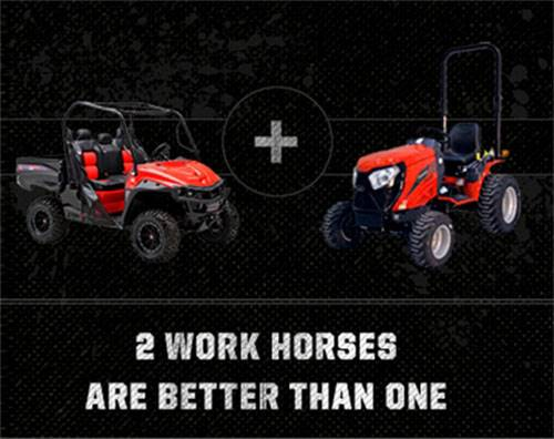 Mahindra - Two Work Horses Are Better Than One Rebate Program