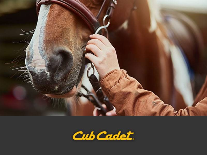 Cub Cadet - Special Offers - Equine Club Member Rebates