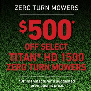 Toro - $500 USD Off Select TITAN HD 1500 Series Mowers