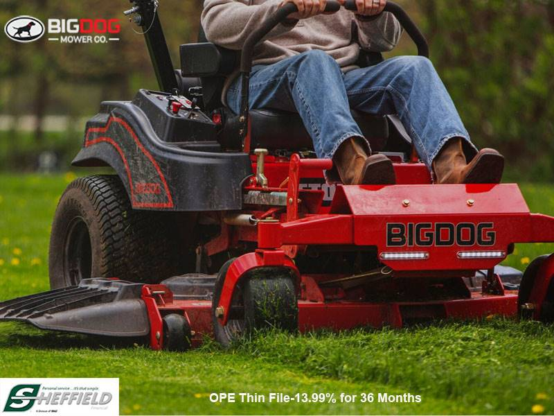 Big Dog Mower - Sheffield Financial Programs - OPE Thin File-13.99% for 36 Months