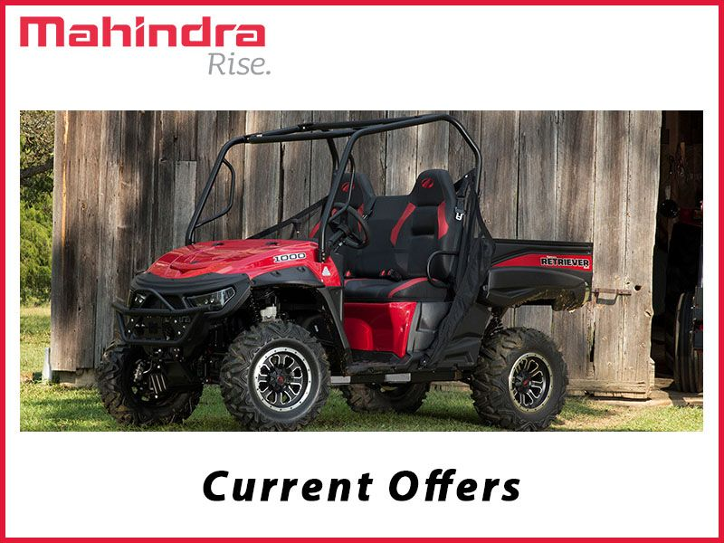 Mahindra - Current Offers