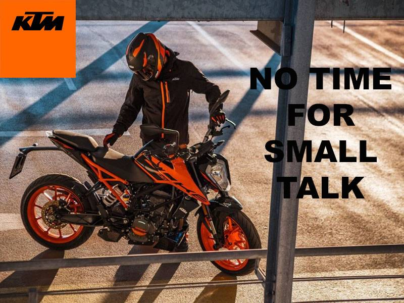 KTM - No Time For Small Talk