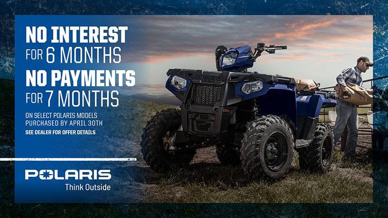Polaris - Sportsman No Interest / No Payments*