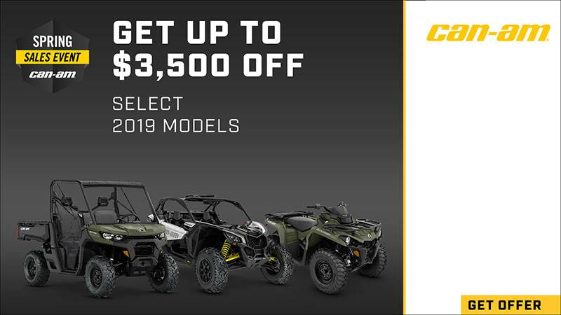 Can-Am - Spring Sales Event - ATVs and SSV
