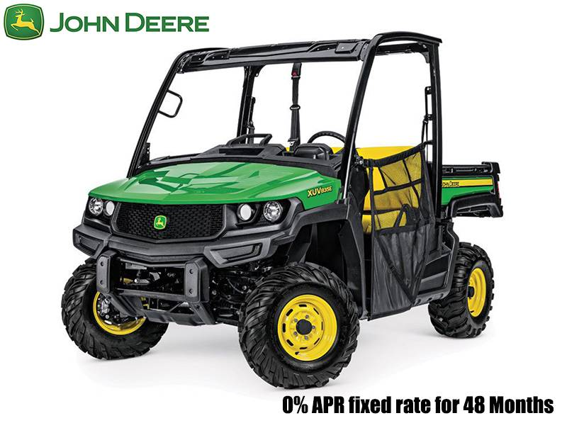 John Deere - 0% APR fixed rate for 48 Months on XUV/HPX/RSX Gator